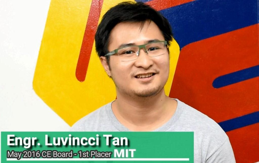 Engr. Luvincci D. Tan