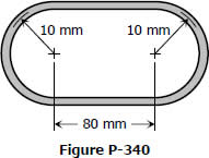 Oval thin-walled tube