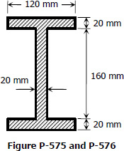 Shear Force Carried by Wide Flange Section